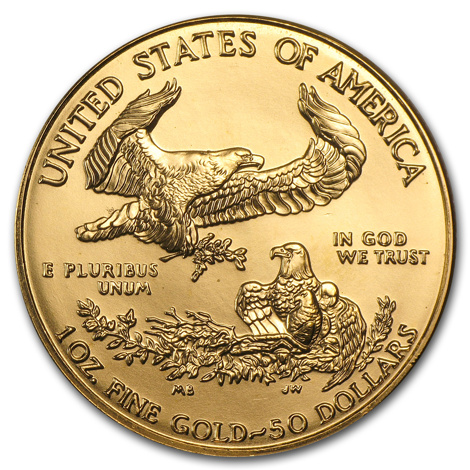 1998 1 oz Gold American Eagle (BU)